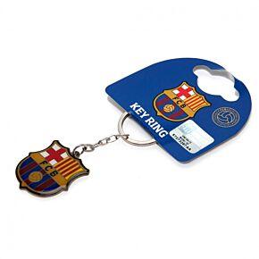 Barcelona Crest Keyring