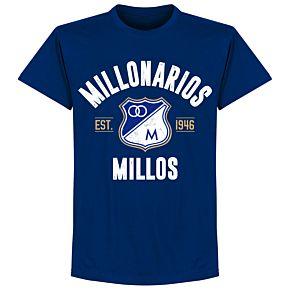 Millonarios Established T-Shirt - Ultramarine