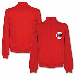 1970's Norway Retro Track Top - Red