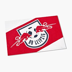 RB Leipzig Flag -Red/White -(90 x 60cm Approx)