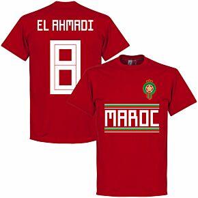 Morocco El Ahmadi 8 Team Tee - Red
