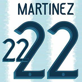 Martinez 2220-21 Argentina Home