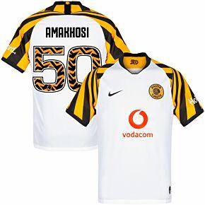 Nike Kaizer Chiefs Away Amakkosi 50 Jersey 2019-2020 (Fan Style Printing)