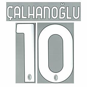 Çalhanoğlu 10 (Official Printing) - 21-22 AC Milan Home