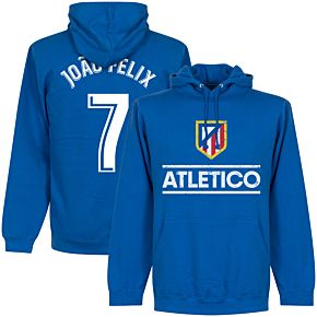 Atletico Madrid Joao Felix 7 Team Hoodie - Royal