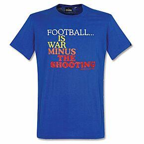 Football is War Tee - Blue