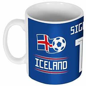 Iceland Sigurdsson 10 Team Mug