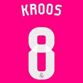 Kroos 8 - 2014 / 2015 Real Madrid Away KIDS Official Name & Number