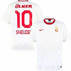 14-15 Galatasaray Away Supporters Shirt + Sneijder 10