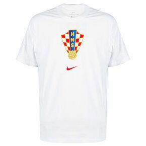 20-21 Croatia Travel T-Shirt - White - Kids