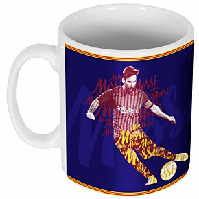 Messi Script Print Ceramic Mug