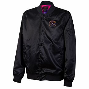 2021 PSG x Jordan Coaches Jacket - Black/Purple