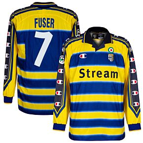 Champion Parma 1999-2000 Home Long-Sleeve Fuser 7 Shirt - NEW Player Issue - Size XL