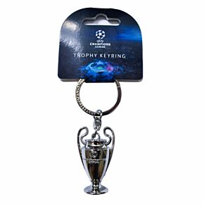 UEFA Champions League Official Replica 3D Trophy Keyring (45mm)