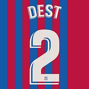 Dest 2 (Official Printing) - 21-22 Barcelona Home