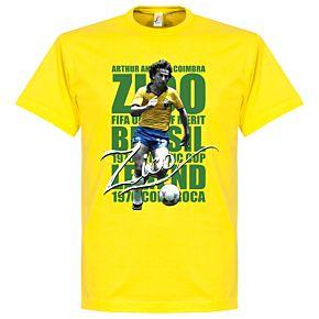 Zico Legend Tee - Yellow