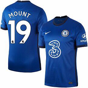20-21 Chelsea Home Shirt + Mount 19