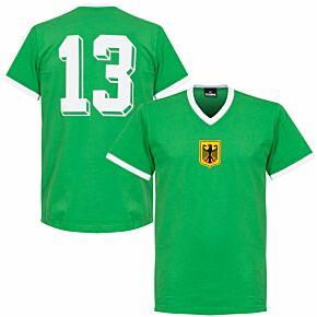 1970 West Germany Away Retro Shirt + No. 13