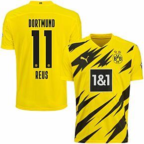20-21 Borussia Dortmund Home Shirt + Reus 11