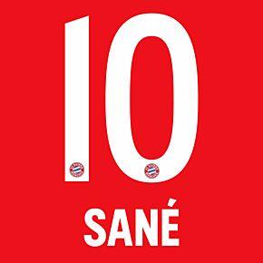 Sané 10 - 20-21 Bayern Munich Home (Official Printing)