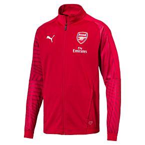 Arsenal Stadium Jacket 2018 / 2019 - Red