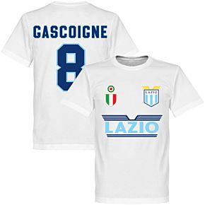 Lazio Gascoigne 8 Team Tee - White