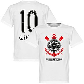 Corinthians G. Zanotti 10 Minas Tee - White