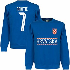 Croatia Rakitic 7 Team KIDS Sweatshirt - Royal
