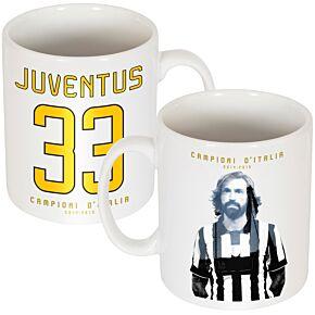 Juventus Pirlo Campioni D'Italia 33 Mug