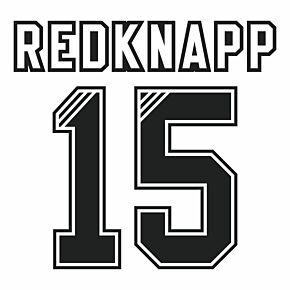 Redknapp 15 (Retro Flock Printing) 95-96 Liverpool Away