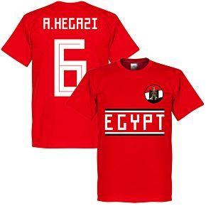 Egypt A. Hegazi 6 Team Tee - Red