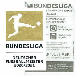 21-22 Bundesliga Champions Patches (20-21 Winners) - Bayern Munich