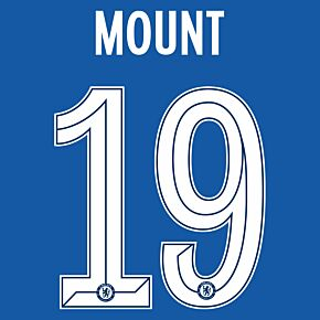 Mount 19 (Official Cup Printing) - 21-22 Chelsea Home