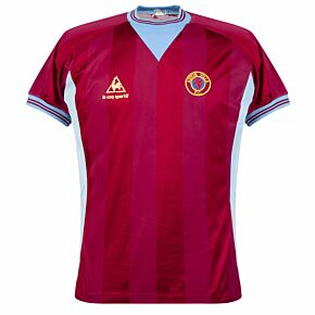Le Coq Sportif Aston Villa 1983-1985 Home Shirt - USED Condition (Great) - Size M
