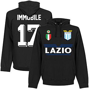 Lazio Immobile 17 Team Hoodie - Black