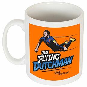 Robin van Persie The Flying Dutchman Mug