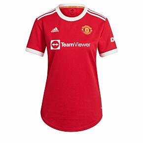 21-22 Man Utd Home Womens Shirt