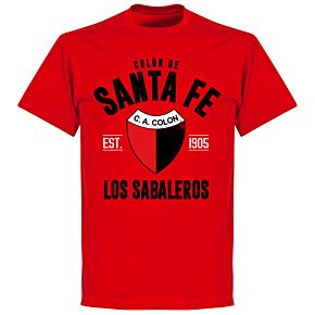Colon de Santa Fe EstablishedT-Shirt - Red