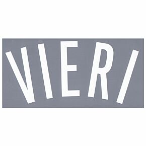 Vieri (Name Only) - 02-03 Juventus 3rd Official Transfer