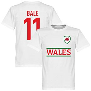 Wales Bale 11 Team Tee - White
