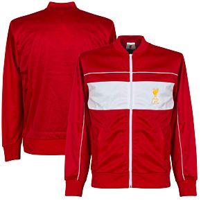 1982 Liverpool Retro Track Jacket - Red/White