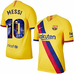 Nike Barcelona Away Messi 10 Jersey 2019-2020 (Gallery Style Printing)