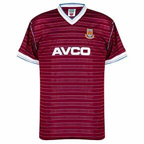 1986 West Ham Home Retro Shirt