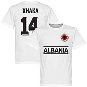 Albania Xhaka 14 Team Tee - White