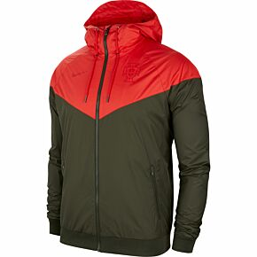 20-21 Portugal NSW Authentic Windrunner Jacket - Red/Black