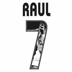 Raul 7 (Gallery Style) Real Madrid Home