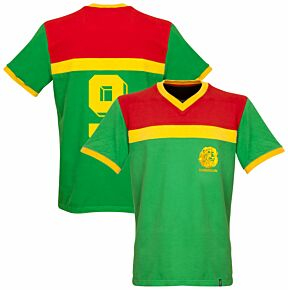 1989 Cameroon Retro Shirt + No 9