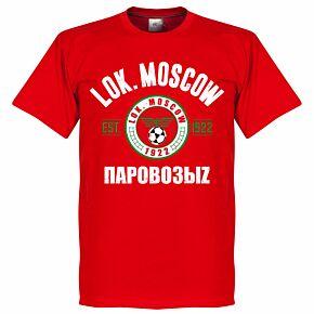 Lokomotiv Moskow Established Tee - Red