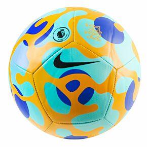21-22 Premier League Pitch Football - Green - (Size 5)
