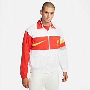 21-22 Liverpool I96 Heritage Woven Jacket - White